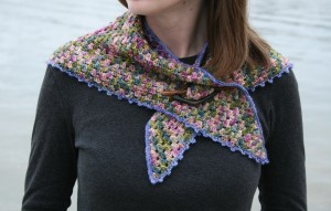 downeast shawlette