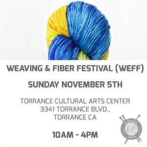 Weaving and Fiber Festival (WeFF) – YarnoverTruck