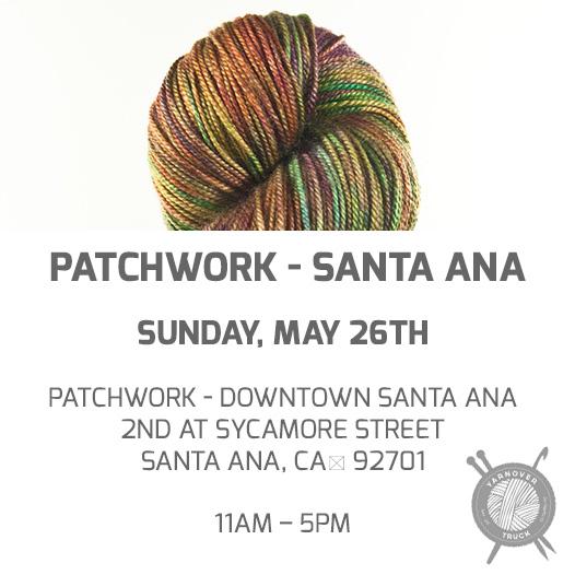 Santa Ana – Patchwork – YarnoverTruck