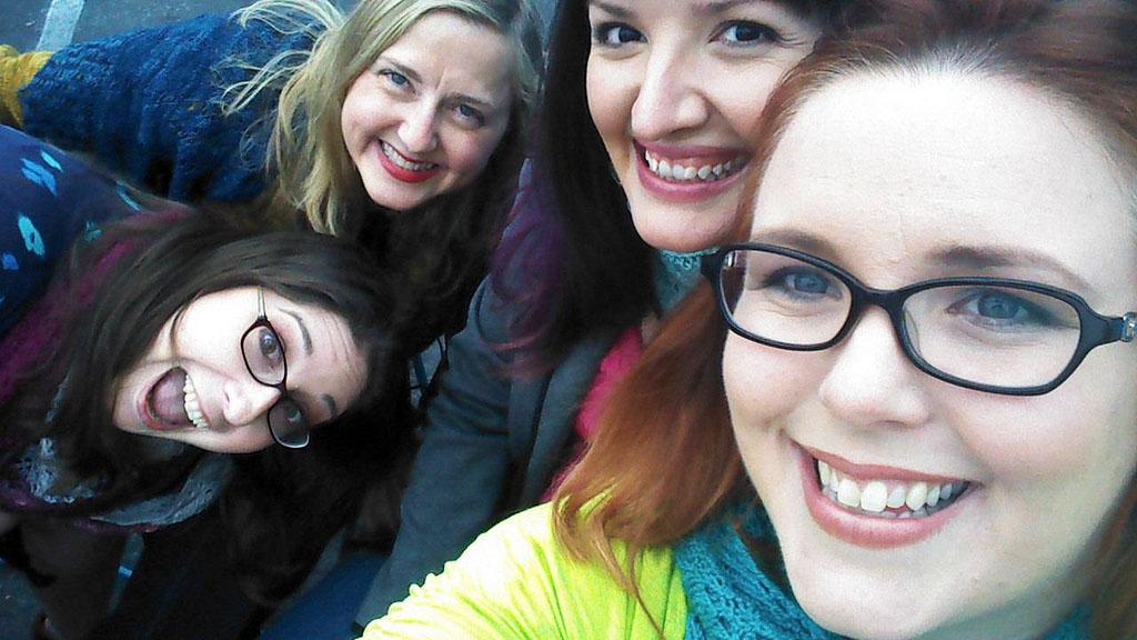 Laura, Michelle, Barbra and Maridee